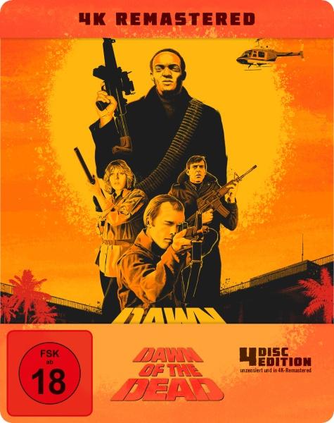 Zombie - Dawn of the Dead (Steelbook) (4K-UHD + 3 Blu-rays)