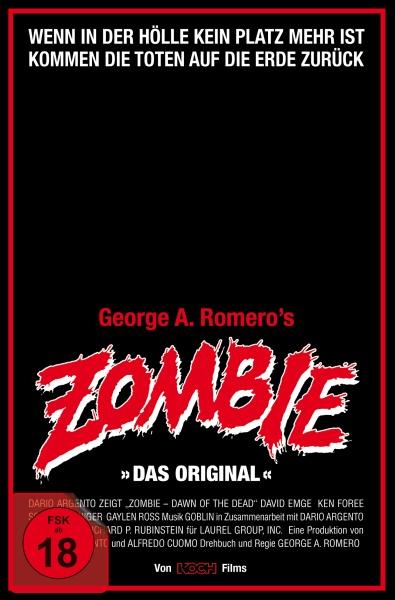 Zombie - Dawn of the Dead (Retro-VHS-Edition A, UHD + 3 Blu-rays)