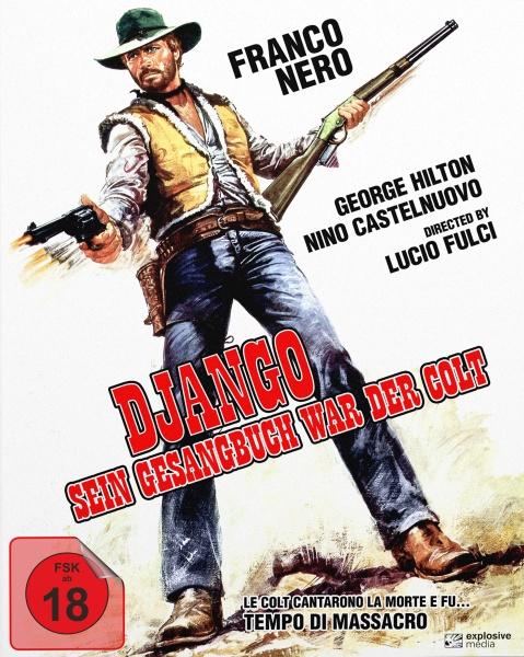 Django - Sein Gesangbuch war der Colt (Mediabook A, Blu-ray+DVD)