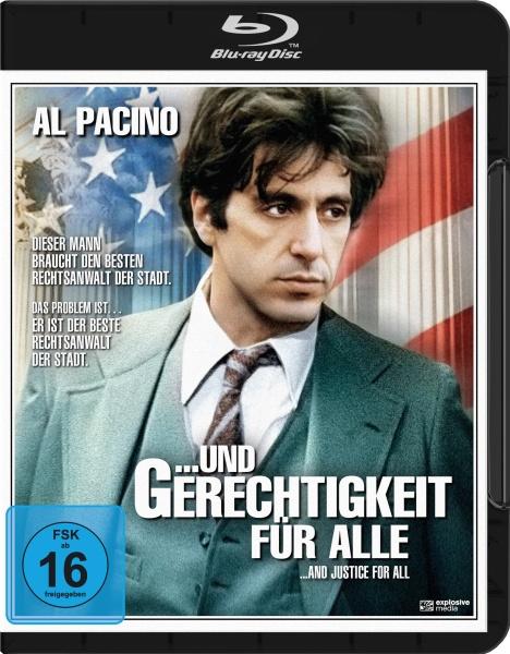 Und Gerechtigkeit für alle (And Justice for All) (Blu-ray)