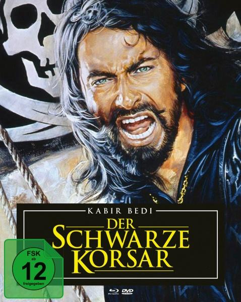 Der schwarze Korsar (Mediabook, 1 Blu-ray + 2 DVDs)