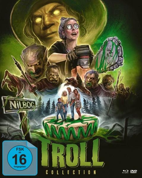 Troll 1+2 - Die ultimative Box (2 Blu-rays + 1 DVD)