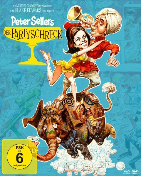 Der Partyschreck (Special Edition, Blu-ray + 2 DVDs)