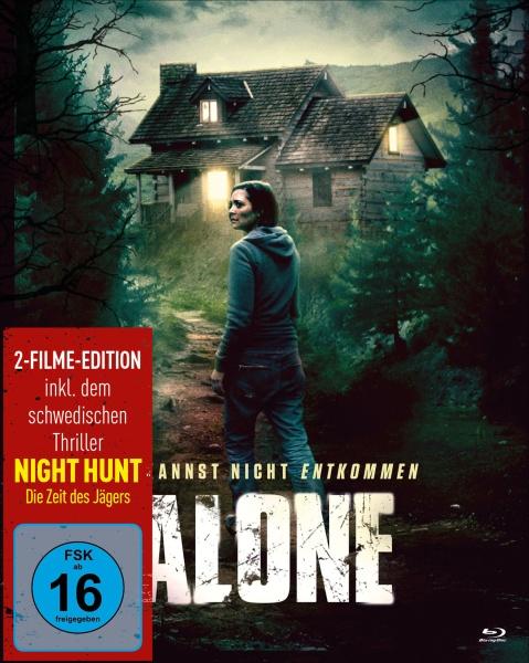 Alone - Du kannst nicht entkommen (Mediabook, 2 Blu-rays)