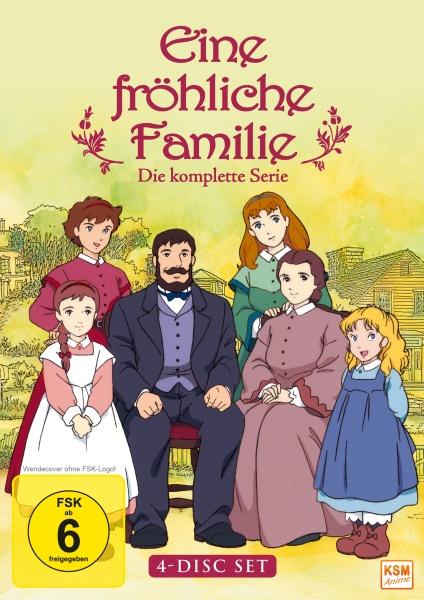 Eine fröhliche Familie - Die komplette Serie (4 DVDs)
