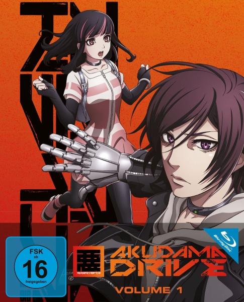Akudama Drive - Staffel 1 - Vol. 1 (Ep. 1-4) (Blu-ray)