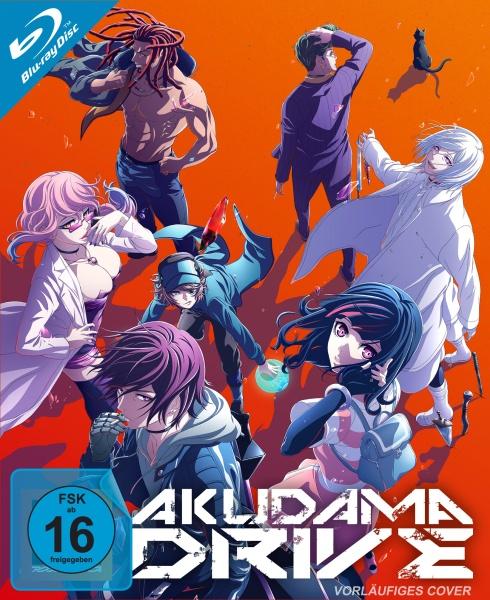 Akudama Drive - Staffel 1 - Vol. 3 (Ep. 9-12) im Sammelschuber (Blu-ray)