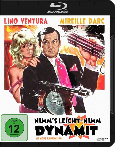 Nimm's leicht - nimm Dynamit (Blu-ray)