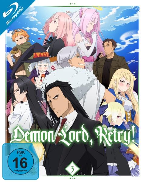 Demon Lord, Retry! - Vol.3 (Ep. 9-12) (Blu-ray)