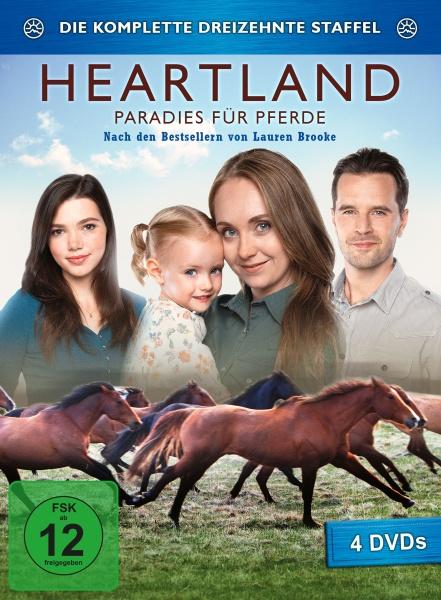 Heartland - Paradies für Pferde, Staffel 13 (4 DVDs)