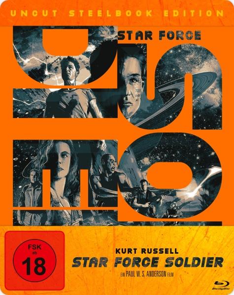 Star Force Soldier (Steelbook) (Blu-ray)