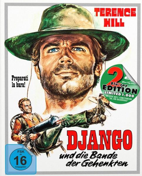 Django und die Bande der Gehenkten (Mediabook A, 2 Blu-rays)