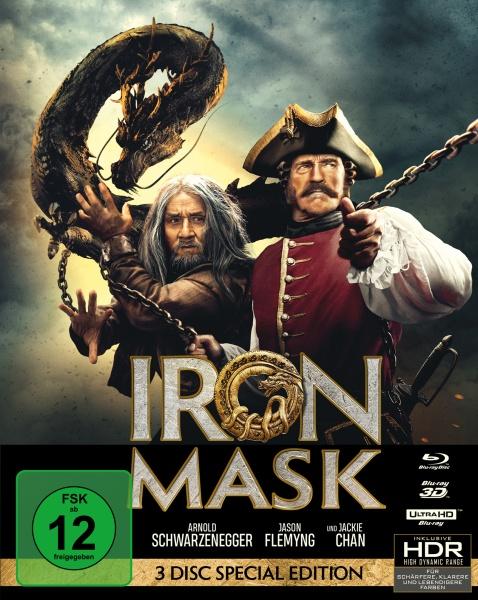 Iron Mask (Mediabook, UHD+3D-Blu-ray+Blu-ray)