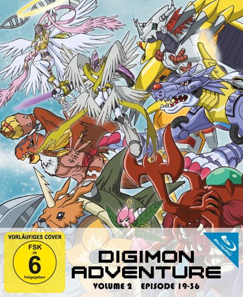 Digimon Adventure - Staffel 1.2 (Ep. 19-36) (2 Blu-rays)