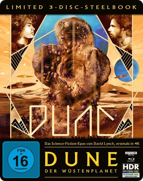 Dune - Der Wüstenplanet (Steelbook Edition, 4K-UHD + 2 Blu-rays)