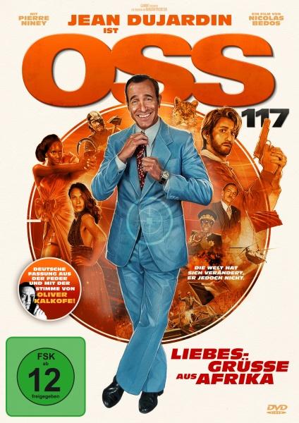 OSS 117 - Liebesgrüße aus Afrika (DVD)