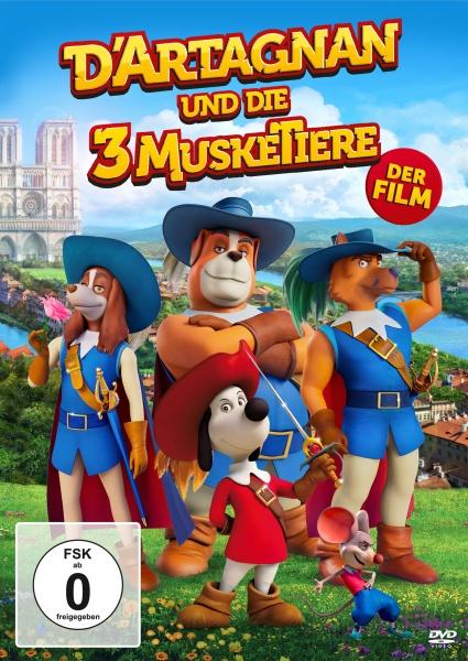 D'Artagnan und die drei MuskeTiere (DVD)