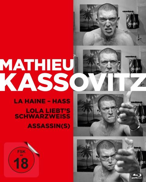 Mathieu Kassovitz - Die Box (3 Blu-rays)