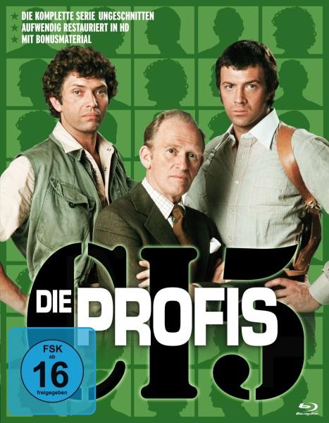Die Profis - Die komplette Serie in HD (Keepcase) (17 Blu-rays)