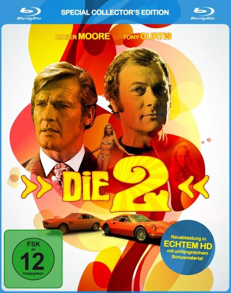 Die Zwei - Die komplette Serie in HD (Keepcase) (7 Blu-rays + 1 DVD)