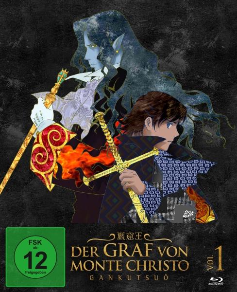 Der Graf von Monte Christo - Gankutsuô Vol. 1 (Ep. 1-8) (2 Blu-rays)