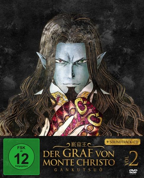 Der Graf von Monte Christo - Gankutsuô Vol. 2 (Ep. 9-16) (DVD + Soundtrack-CD)