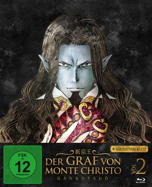 Der Graf von Monte Christo - Gankutsuô Vol. 2 (Ep. 9-16) (Blu-ray + Soundtrack-CD)