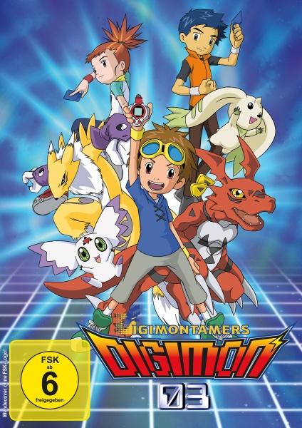 Digimon Tamers - Die komplette Serie (Ep. 01-51) (9 DVDs)
