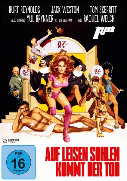 Auf leisen Sohlen kommt der Tod (Fuzz) 1972 (DVD)