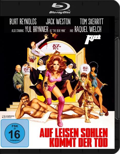 Auf leisen Sohlen kommt der Tod (Fuzz) 1972 (Blu-ray)