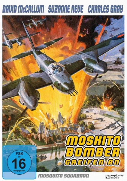 Moskito-Bomber greifen an (Mosquito Squadron) 1970 (DVD)