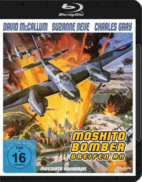 Moskito-Bomber greifen an (Mosquito Squadron) 1970 (Blu-ray)