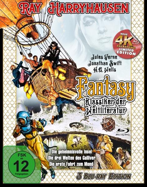 Ray Harryhausen - Fantasy Klassiker der Weltliteratur (3 Blu-rays)
