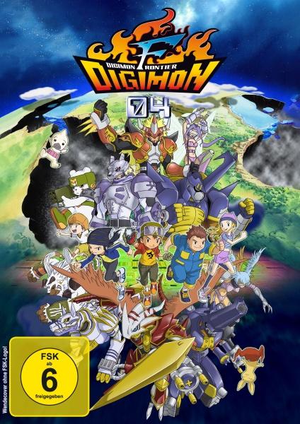 Digimon Frontier - Die komplette Serie (9 DVDs)