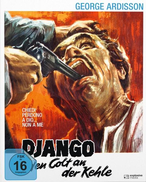 Django - Den Colt an der Kehle (Mediabook B, Blu-ray+DVD)