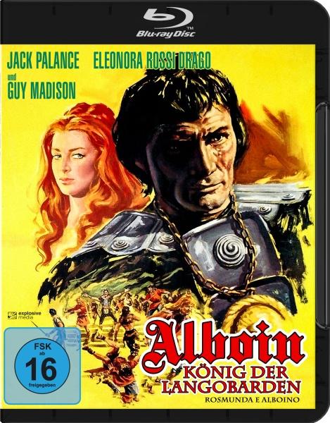 Alboin, König der Langobarden (Blu-ray)