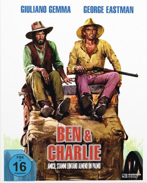 Ben & Charlie (Mediabook A, 2 Blu-rays)