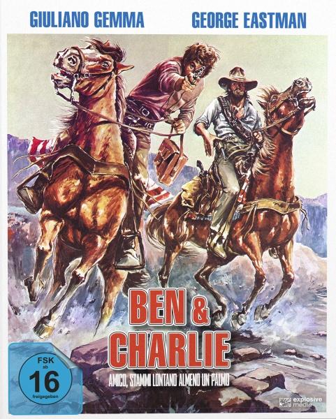 Ben & Charlie (Mediabook B, 2 Blu-rays)