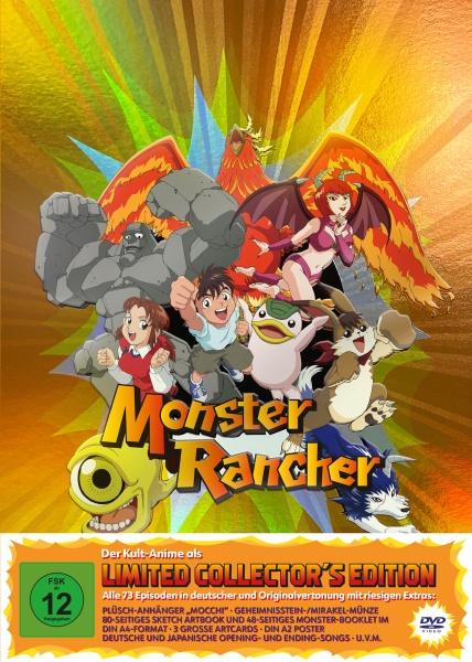 Monster Rancher - Die komplette Serie Limited Edition (Ep. 1-73) (12 DVDs)