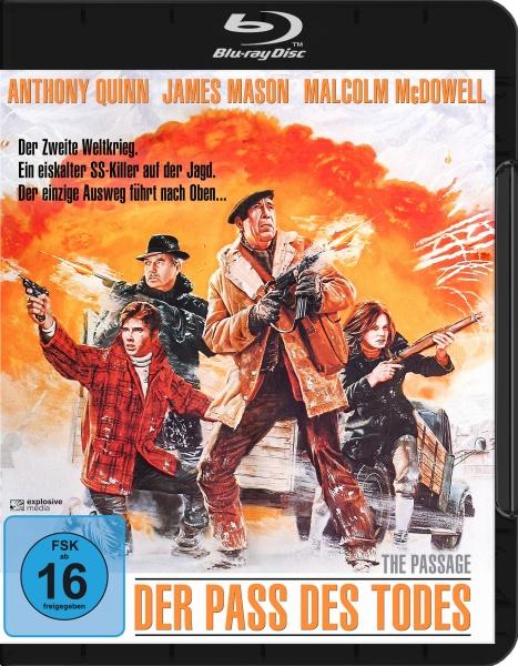 Der Pass des Todes (The Passage) (Blu-ray)