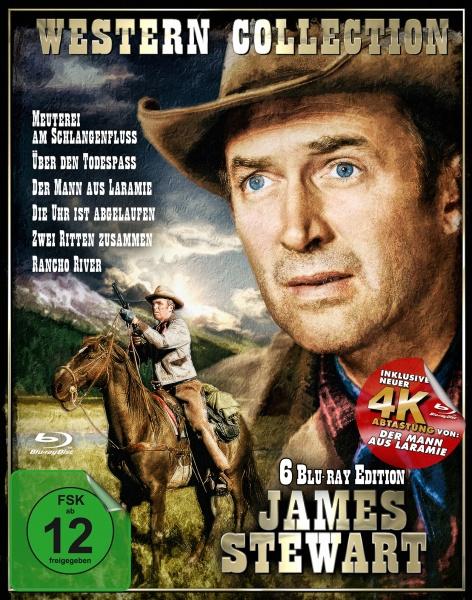 James Stewart - Western Box (6 Blu-rays)