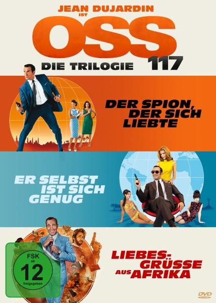 OSS 117 - Die Trilogie (3 DVDs)