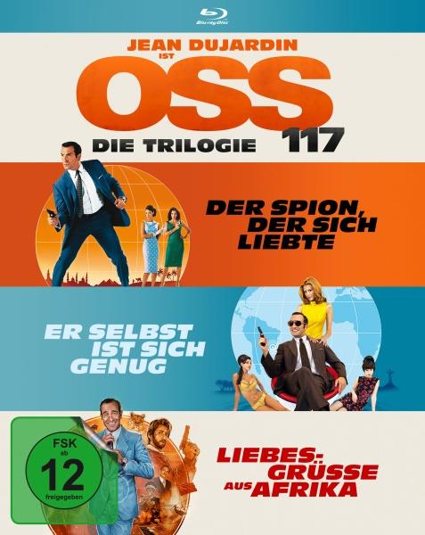 OSS 117 - Die Trilogie (3 Blu-rays)