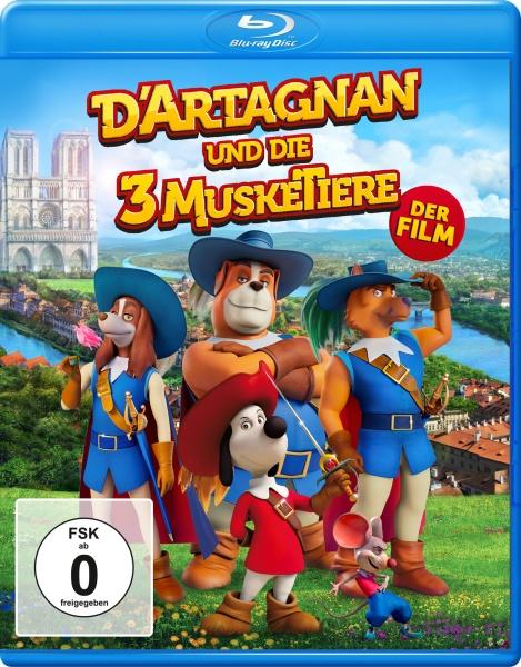 D'Artagnan und die drei MuskeTiere (Blu-ray)