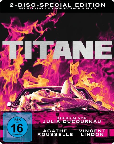 Titane (Steelbook, Blu-ray+Soundtrack-CD)