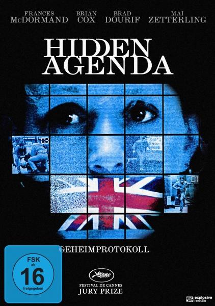 Hidden Agenda - Geheimprotokoll (DVD)