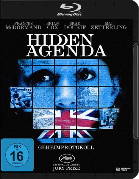 Hidden Agenda - Geheimprotokoll (Blu-ray)
