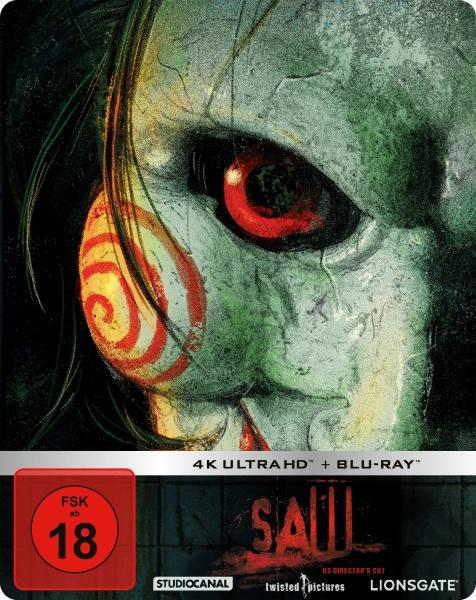 SAW - Limited Steelbook Edition (4K Ultra HD+Blu-ray)