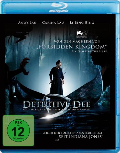 Detective Dee und das Geheimnis der Phantomflammen (Blu-ray)