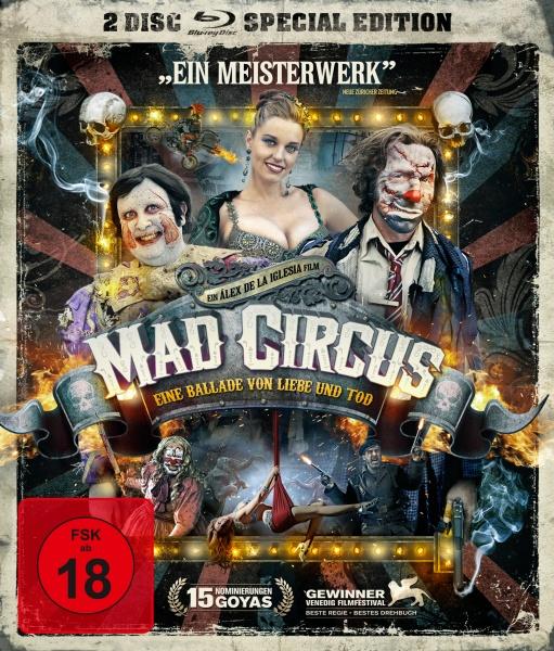Mad Circus - Eine Ballade von Liebe und Tod - 2-Disc Special Edition (Blu-ray + DVD)